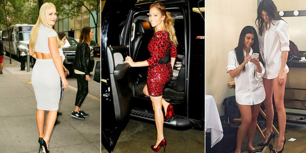 8b784070083b 20 Celebs Who Like Wearing High Heels