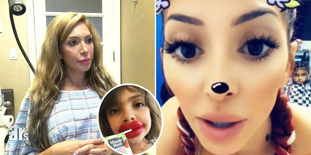 18 Pics That Show What Farrah Abraham Is Really Like As A Mom