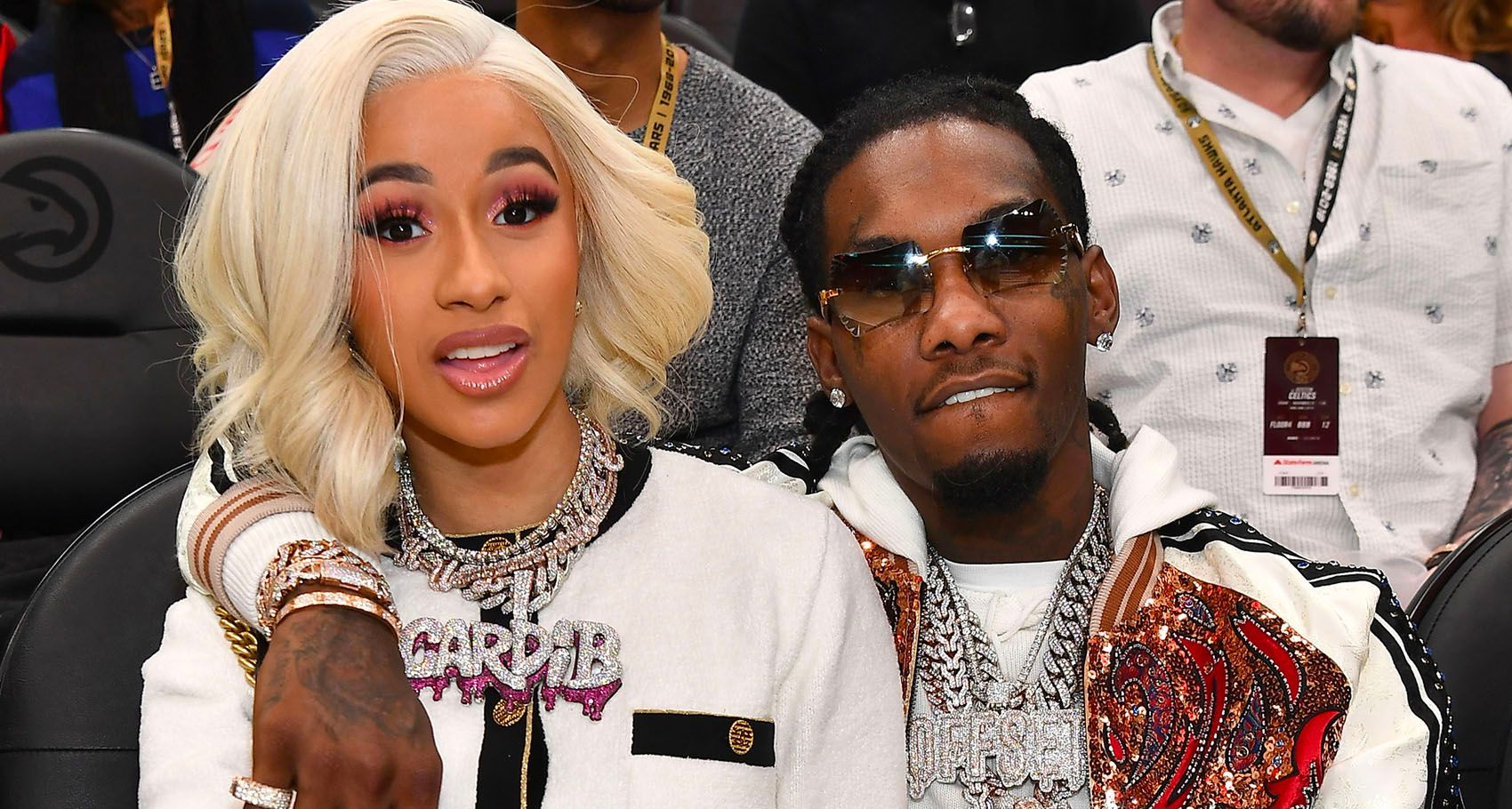 Is Cardi B S Offset Name Tattoo Real The Ink Is A Giant: Offset Drops Footage Of Cardi B In Labor