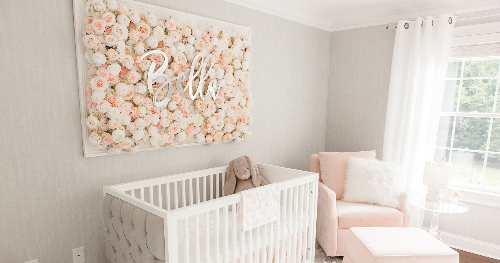 10 Unique Ways To Display A Baby S Name In A Nursery Babygaga